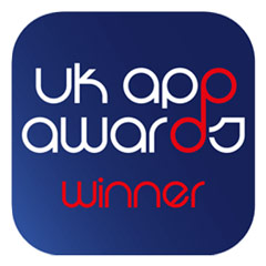UK App Awards Winner